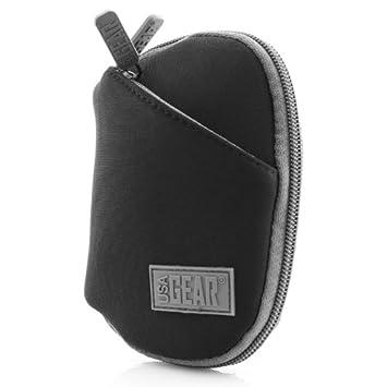 USA Gear CP4 Funda Carcasa Impermeable con Enganche para Cinturón y Bolsillos Compatible con- Romoss Cargador de Baterías Externo y Más