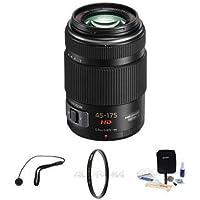 Panasonic 45-175mm F/4.0-5.6 Lumix GX Vario Power OIS Lens. Value Kit w/Acc