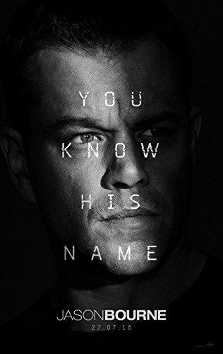 "Jason Bourne - Authentic Original 27"" x 40"" Movie Poster by MovieposterDotCom"