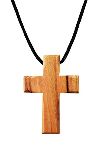 - Olive Wood Cross Pendant. (1.5 inches Height) WA-37