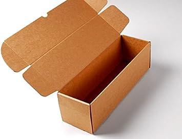 Selfpackaging Caja para envíos Alargada en microcanal Color Kraft ...