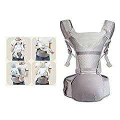 The ergonomic design of the baby carrier provides maximum seat width, greater flexibility and a fully adjustable headrest. Provide maximum comfort for parents, babies and hands-free. It is soft and light and takes up little space. It can be e...