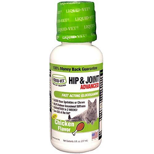 Liquid-Vet by COOL PET Holistics Feline Hip & Joint Advanced Formula, Chicken Flavor, 8 oz