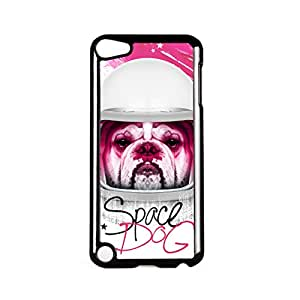 Space Dog Black Hard Plastic Case for Apple? iPod Touch 5th Gen by Gangtoyz + FREE Crystal Clear Screen Protector