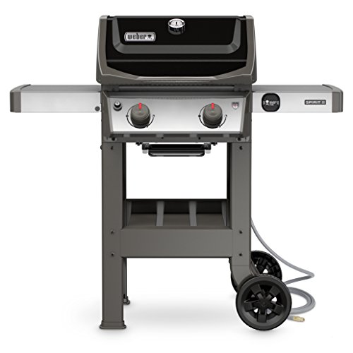 Weber 48010001 Spirit II E-210 Black NG Outdoor Gas Grill
