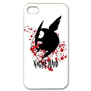 Stylish Design Anime Akame ga KILL Cool Tatsumi Akame and Mine Pictures High Quality Protective Durable Back Case Laser Cover Shell for iPhone 4/4S-1