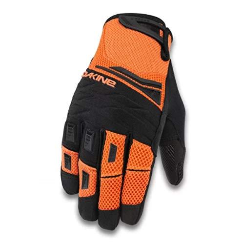 Glove Dakine Full Finger - Dakine Mens Cross-X Full-Finger Mountain Biking Glove, Vibrant Orange, X-Large