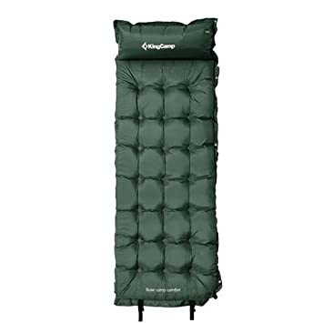King Camp Base Camp Comfort automáticamente hinchable Aire ...