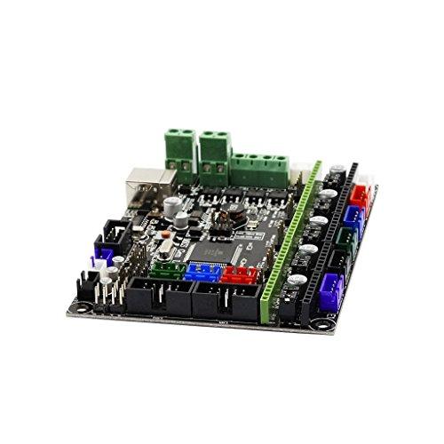 Stepper Motor Main (MagiDeal MKS Gen L V1.0 Control Mainboard With 5 Pcs Green A4988 Stepper Motor Driver Sets)