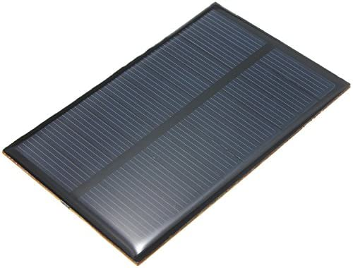 5V 1.2W 240mA Solar Ladegerät SunPower Solar Panel Sonnenkollektor Solarmodul