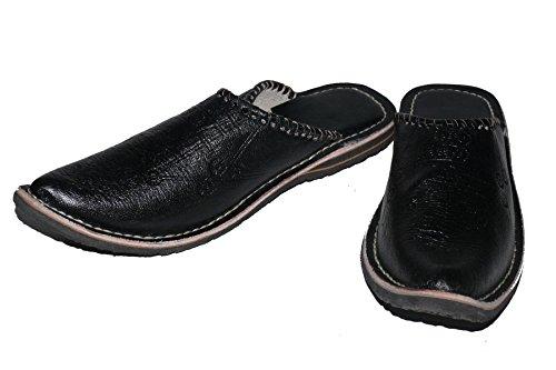 Orientalische Leder Schuhe Pantoffeln Hausschuh Slipper - Herren
