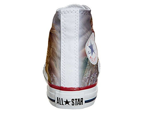 CONVERSE personalizzate All Star Sneaker unisex (Prodotto Artigianale) Fata style