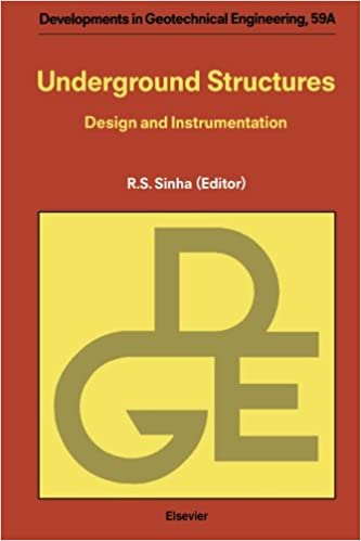 Under ground structure Old Underground Structures Design And Instrumentation R S Sinha 9780444565730 Books Amazonca Alamy Underground Structures Design And Instrumentation R S Sinha