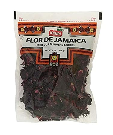 Amazoncom 8 Oz Dried Hibiscus Flower Sorrelflor De Jamaica