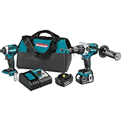 Makita is the innovation leader in brushless motor technology, and the 18V LXT® Brushless 2-Piece Combo Kit (model XT268T) gives you two brushless solutions with more performance features for drilling, driving and fastening. Each tool feature...