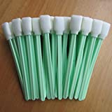 Printer Parts 50 pcs Cleaning Swab Foam tip Sticks for Graphtec for Summa Yoton,Yoton/Most Common Models of Large Format injet Printers