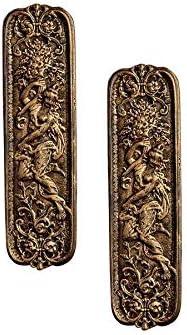 Design Toscano Greenman Door Plate