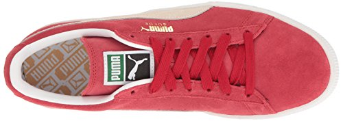 Unisex Adulto Classic Puma Suede white – Sneaker Multicolore Regal Red team wqtwUf1