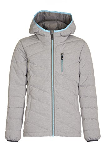 Killtec Girls 'Rivana Jr Down Jacket, Girls, Rivana Jr Mid-Grey
