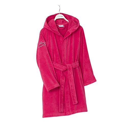 Lacoste Fairplay Robe, 100% Cotton, 34″L, Magenta