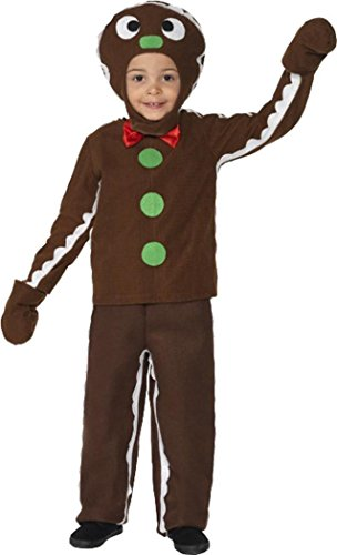 Gingerbread Boy Costumes (Little Gingerbread Man Costume Medium)