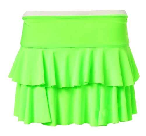 Forever Womens Floricient Jersey Skirt
