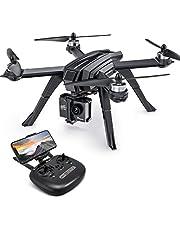 Potensic D85 GPS Drone avec 2K HD Caméra 130 FOV Moteur Non-brossé en Forme de Monstre, Fonction Retour à la Maison, Mode Suivez-Moi, Vitesse de 5G WiFi, 2800mAh Batterie 20 Minutes de Vol