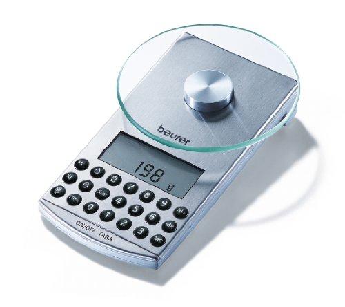 Beurer DS81 Balanza Digital de Mesa, 1 gr a 5 kg Nutricional