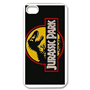 iPhone 4,4S phone cases White Jurassic Park AH454324