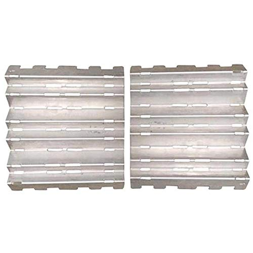 50000356 Stainless Steel Heat Plate for Vermont Castings 2-PACK - Grill Stainless Castings Steel Vermont