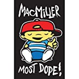 (22x34) Mac Miller - Most Dope Music Blacklight Poster