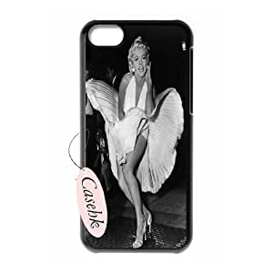 Casehk New Design Hard Back Case for iPhone 5C, Custom monroe iPhone 5C Case, monroe DIY Phone Case