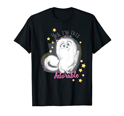 - The Secret Life of Pets 2 Adorable Gidget  T-Shirt