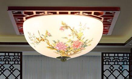 Lámparas de cerámica huevo de cerámica sobre el techo de ...