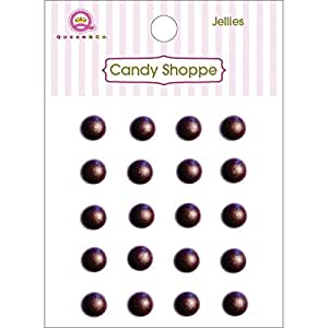 Candy Shoppe Self-Adhesive Jellies Dots 6mm 20/Pkg-Gold
