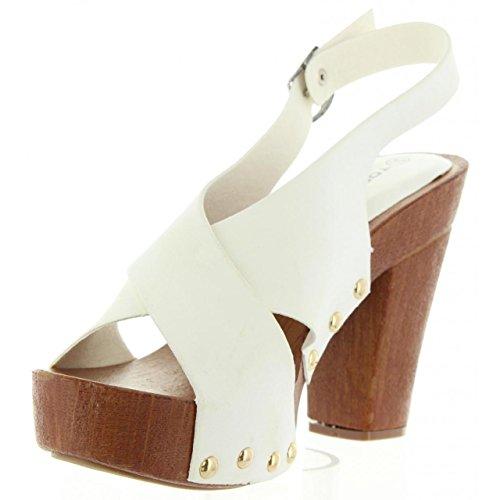 Sandales B739390 B7200 Femme pour White Urban qpqgPU