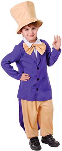 Boys Factory Owner World Book Day Week Character TV Film Carnival Fancy Dress Costume Outfit (10-12 -