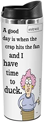 Tree-Free Greetings TT01873 Aunty Acid 18-8 Double Wall Stainless