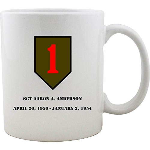 Customizeable Infantry Division 11oz Coffee