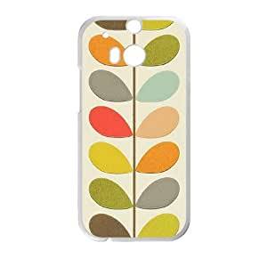 Orla kiely Brand Logo For HTC One M8 Custom Cell Phone Case Cover 99ER053442