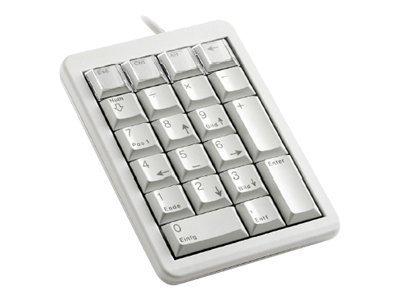 Cherry Teclados para tarjetas chip-teclado numérico mecánico, tecla slim, conexión USB, color blanco: Amazon.es: Electrónica