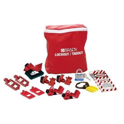 Brady 134034, Breaker Lockout Pouch Kit, 2 Kits