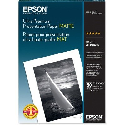Epson Enhanced Matte Paper 50 sheets (S041343) - A3 (11.7x16.5)