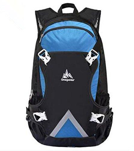Bicicleta de montaña viaje mochila al aire libre bolso de hombro hombres y mujeres viaje viaje luz transpirable resistente al agua bolsa de escalada