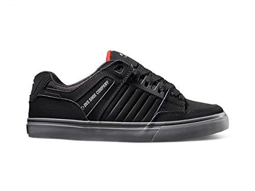 DVS APPAREL Men's Celsius Ct Skateboarding Shoe, Black/Leather Black Leather