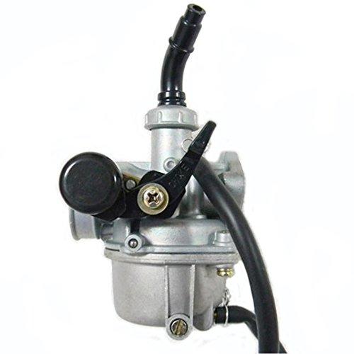 Savior PZ19 19mm Carburetor with Cable Choke for 50cc 70cc 90cc 110cc 125cc ATV Quad Go-kart Dirt Bike Carb Taotao Sunl Roketa by Savior (Image #2)