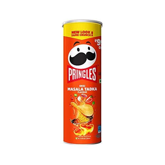 Kellogg's Pringles Desi Masala Tadka, 107 g