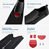 WAVE Long Blade Diving Fins for Freediving and