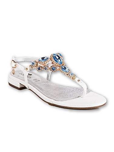 Braccialini Women's Fashion Sandals Bianco