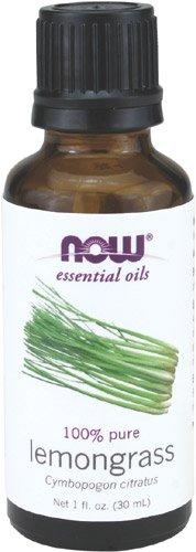 NOW Lemongrass Oil 1 Ounce Pack
